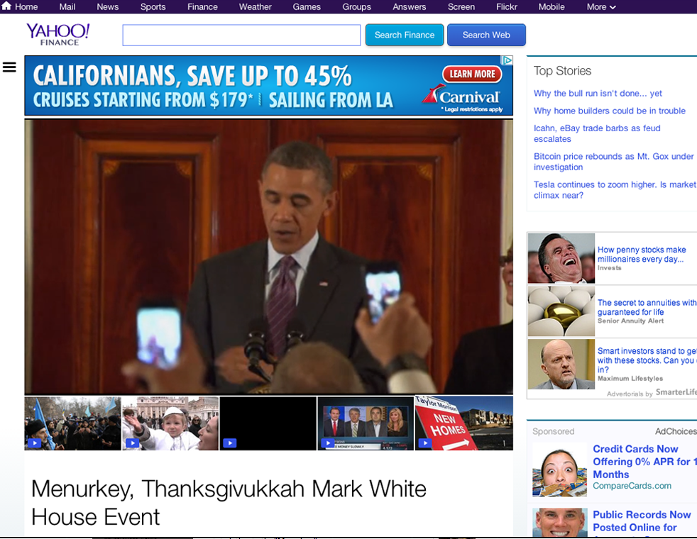 yahoo-finance-menurkey-thanksgivukkah-mark-white-house-event